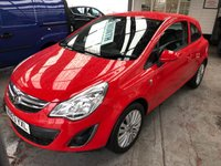 USED 2013 63 VAUXHALL CORSA 1.0 ENERGY ECOFLEX 3d 64 BHP *** ONLY 49,000 MILES ***