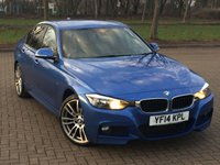 2014 BMW 3 SERIES 2.0 320D M SPORT 4d AUTO 181 BHP £11995.00