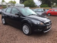 USED 2010 10 FORD FOCUS 1.6 TITANIUM 5d 100 BHP Fantastic example of this top range model