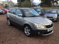 USED 2013 13 SKODA FABIA 1.6 SCOUT TDI CR 5d 103 BHP Available at our Tranent branch