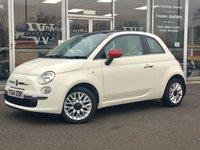 2015 FIAT 500 1.2 LOUNGE 3 DOOR HATCHBACK 69 BHP £5390.00