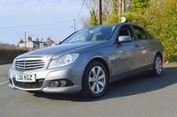 2011 MERCEDES-BENZ C CLASS 2.1 C220 CDI BLUEEFFICIENCY SE 4d AUTO 168 BHP £7991.00