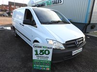 2014 MERCEDES-BENZ VITO 2.1 113 CDI 136 BHP 1 OWNER AIR CON CRUSIE FULL SERVICE HISTORY  £8495.00