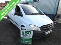 USED 2014 14 MERCEDES-BENZ VITO 2.1 113 CDI 136 BHP 1 OWNER AIR CON CRUSIE FULL SERVICE HISTORY  1 OWNER  AIR CON, CRUISE CONTROL, FULL SERVICE HISTORY 1 OWNER