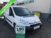 USED 2015 65 CITROEN DISPATCH 1.6 1200 L2H1 HDI 90 BHP 1 OWNER FROM NEW 6 MONTHS RAC WARRANTY 1 OWNERE FROM NEW, CRUISE CONTROL, 6 MONTHS WARRANTY