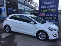 USED 2015 15 HYUNDAI I30 1.6 CRDI SE BLUE DRIVE 5d 109 BHP, only 29000 miles ***GREAT FINANCE DEALS AVAILABLE***
