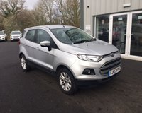 USED 2016 65 FORD ECOSPORT 1.5 ZETEC AUTOMATIC THIS VEHICLE IS AT SITE 1 - TO VIEW CALL US ON 01903 892224