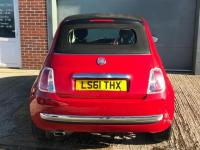 USED 2011 61 FIAT 500 1.2 C LOUNGE 3d 69 BHP 500 C , LOW MILAGE, HPI CLEAR