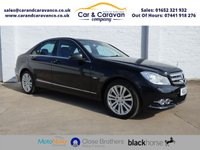 USED 2012 12 MERCEDES-BENZ C CLASS 2.1 C250 CDI BLUEEFFICIENCY ELEGANCE 4d 202 BHP One Owner Citroen History A/C Buy Now, Pay Later Finance!