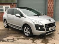 USED 2011 11 PEUGEOT 3008 1.6 EXCLUSIVE HDI 5d AUTO 112 BHP AUTO, HPI CLEAR