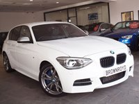 USED 2014 63 BMW 1 SERIES 3.0 M135I 5d AUTO 316 BHP SAT NAV+HTD LEATHER+XENONS+FSH