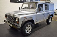 USED 2010 10 LAND ROVER DEFENDER 110 2.4 110 TDI UTILITY WAGON DCB 1d 121 BHP SOLID EXAMPLE - BOOST ALLOYS - 5 SEATS - REAR STEP - CARPTED REAR