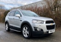 USED 2011 61 CHEVROLET CAPTIVA 2.2 LTZ VCDI 5d AUTO, TOP SPEC, SAT NAV, HEATED LEATHER, REAR CAMERA, SIDE STEPS