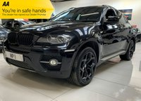USED 2011 61 BMW X6 3.0 XDRIVE30D 4d AUTO 241 BHP 8SP 4WD COUPE