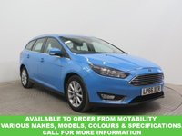USED 2017 66 FORD FOCUS 1.0 TITANIUM ECOBOOST AUTOMATIC 125 BHP This VEHICLE CAN BE ORDERED FROM MOTABILITY
