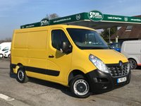 USED 2016 65 RENAULT MASTER 2.3 SL28 BUSINESS DCI L/R P/V 1d 110 BHP Rare Example, Only 23,000 Miles, SWB, Low Roof, Finance Arranged.