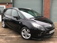USED 2015 64 VAUXHALL ZAFIRA TOURER SRi CDTi 2.0 5dr AUTOMATIC, WARRANTY INCLUDED