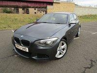 2013 BMW 1 SERIES 2.0 120D M SPORT 5d 181 BHP £9995.00