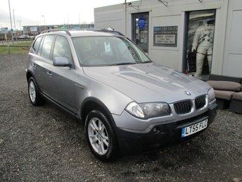 2005 BMW X3 2.0 D SE 5d 148 BHP £3695.00