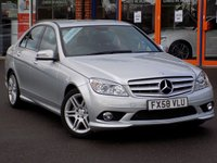 USED 2008 58 MERCEDES-BENZ C CLASS 2.1 CDi Sport 4dr Auto ** Stunning Low Miles Auto **