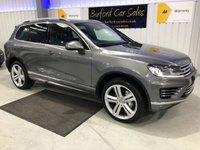 USED 2015 15 VOLKSWAGEN TOUAREG 3.0 V6 R-LINE TDI BLUEMOTION TECHNOLOGY 5d AUTO 259 BHP