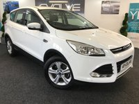 USED 2014 64 FORD KUGA 2.0 ZETEC TDCI 5d 138 BHP F/S/H, LOW MILEAGE, IMMACULATE