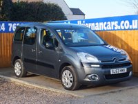2013 CITROEN BERLINGO MULTISPACE 1.6 HDI PLUS 5d 91 BHP £6495.00