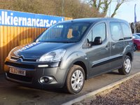 USED 2013 63 CITROEN BERLINGO MULTISPACE 1.6 HDI PLUS 5d 91 BHP WHEEL CHAIR ADAPTED, FSH