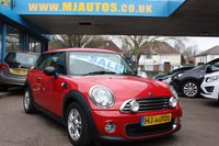 USED 2012 12 MINI HATCH ONE 1.6 ONE 3dr 98 BHP NEED FINANCE??? APPLY WITH US!!!