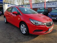 USED 2016 16 VAUXHALL ASTRA 1.6 DESIGN CDTI 5d 108 BHP 0%  FINANCE AVAILABLE ON THIS CAR PLEASE CALL 01204 393 181
