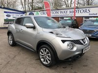 USED 2015 64 NISSAN JUKE 1.2 TEKNA DIG-T 5d 115 BHP 0%  FINANCE AVAILABLE ON THIS CAR PLEASE CALL 01204 393 181