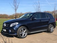 USED 2016 11 MERCEDES-BENZ GLE-CLASS 2.1 GLE 250 D 4MATIC AMG LINE PREMIUM AUTO 201 BHP 5DR PAN ROOF+REVERSE CAM+HUGE SPEC