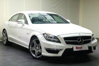 2012 MERCEDES-BENZ CLS CLASS 5.5 CLS63 AMG 4d AUTO 525 BHP £23990.00