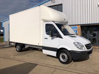 USED 2012 62 MERCEDES-BENZ SPRINTER 2.1 313 CDI LWB 1d 130 BHP 2 AVAILABLE LUTON WITH TAIL LIFT.
