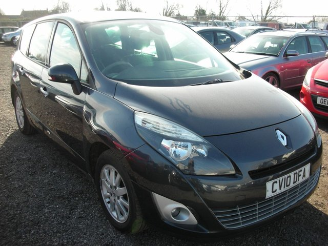 2010 10 RENAULT GRAND SCENIC 1.5 PRIVILEGE TOMTOM DCI 5d 105 BHP