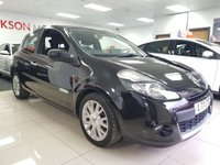 USED 2011 11 RENAULT CLIO 1.1 DYNAMIQUE TOMTOM 16V 3d+CRUISE CONTROL+BLUETOOTH+LOW INSURANCE+