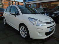 USED 2013 63 CITROEN C3 1.2 SELECTION 5d 80 BHP 1 OWNER, 42,000 MILES