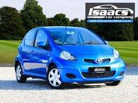 USED 2010 10 TOYOTA AYGO 1.0 BLUE VVT-I 5d AUTO 67 BHP