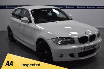 2010 BMW 1 SERIES 2.0 120D M SPORT 5d 175 BHP £6920.00