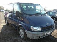 USED 2005 55 FORD TRANSIT 2.0 SWB GLX TOURNEO 1d 125 BHP 9 Seater diesel