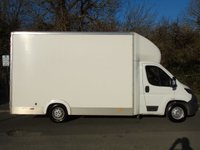 USED 2016 65 PEUGEOT BOXER 2.2 HDI 335 130 BHP L3 13FT LOW CHASSIS LUTON VAN (AIR SUSPENSION) +AIR SUSPENSION+BARN DOORS+