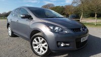 USED 2008 08 MAZDA CX-7 2.3 16V 5d 256 BHP 12 MONTHS M.OT, NEW FRONT & REAR DISCS AND PADS.