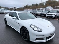 USED 2013 13 PORSCHE PANAMERA 3.0 D V6 TIPTRONIC 5d AUTO 250 BHP Carrera White, Black leather, 20 inch alloys, sunroof, low miles