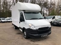 2014 IVECO DAILY 2.3 35C13 LUTON WITH TAIL LIFT £11995.00