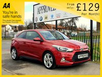 USED 2016 65 HYUNDAI I20 1.2 MPI SPORT NAV 3d 83 BHP 0% Deposit Plans Available even if you Have Poor/Bad Credit or Low Credit Score, APPLY NOW!