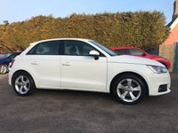 USED 2016 16 AUDI A1 1.4 TFSI SPORTBACK SPORT 5d WITH AUDI SERVICE PACK  NO DEPOSIT  PCP/HP FINANCE ARRANGED, APPLY HERE NOW