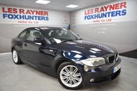 USED 2012 62 BMW 1 SERIES 2.0 120D M SPORT 2d AUTO 175 BHP Great MPG, Automatic, Half Leather, Low miles, Rear park sensors