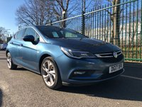 USED 2017 17 VAUXHALL ASTRA 1.6 SRI CDTI 5d 108 BHP All Vehicles with minimum 6 months Warranty, Van Ninja Health Check and cannot be beaten on price!