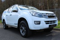 USED 2014 64 ISUZU D-MAX 2.5 TD BLADE DCB 4dr 164 BHP A HIGH SPECIFICATION PICK UP WITH FULL SERVICE HISTORY!!!