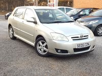 USED 2005 05 TOYOTA COROLLA 1.6 T3 COLOUR COLLECTION VVT-I 5d 109 BHP